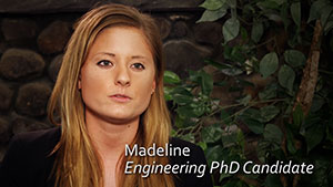 Madeline, Biomedical Engineering PhD Candidate